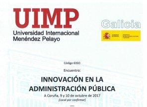 Curso sobre innovación na Administración Pública